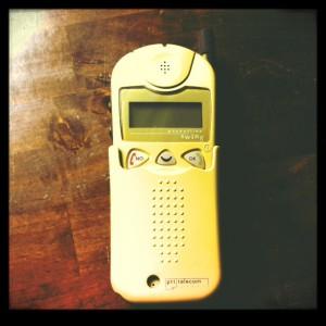 Eerste mobiele telefoon Valleur Tekst & Communicatie